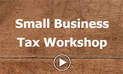 small business tax workshop